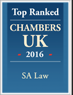 top rated chambers UK 2016
