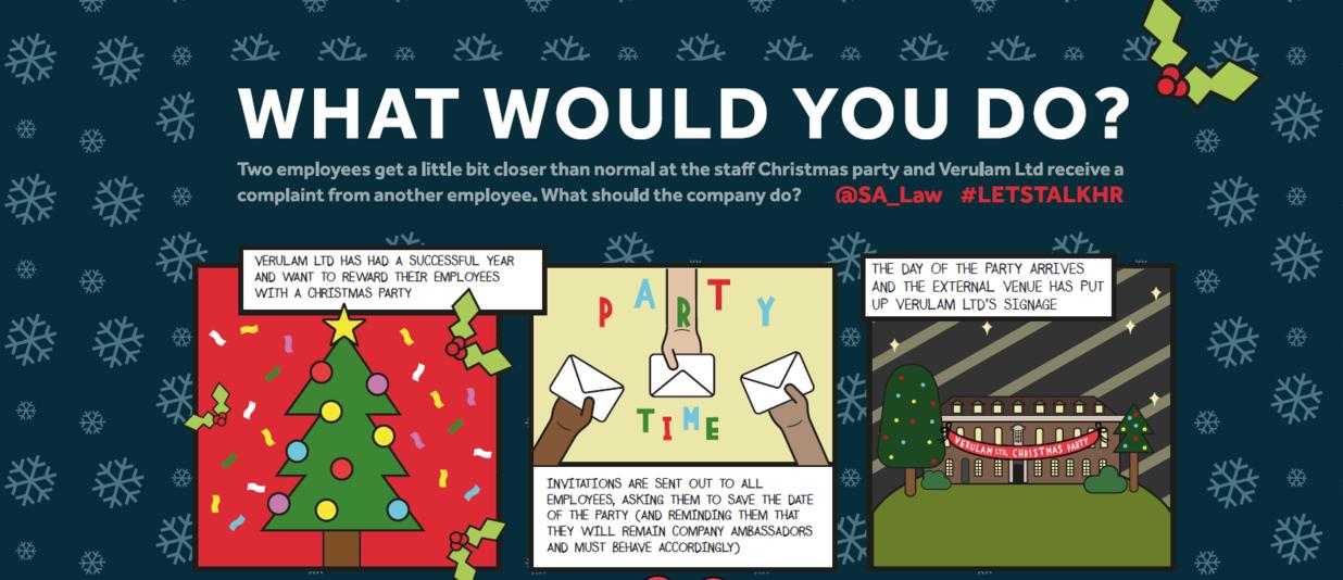 SA Law Christmas Comic