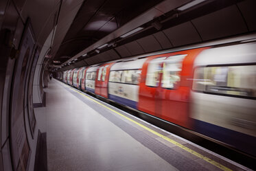 brand image London underground train