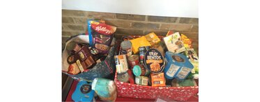 Christmas 2016 food bank collection