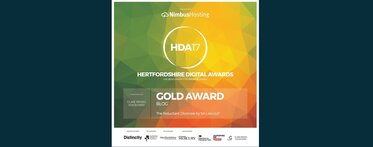 Herts Digital Awards best blog