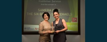 St Albans Food & Drink Customer Service Award Winner 2016
