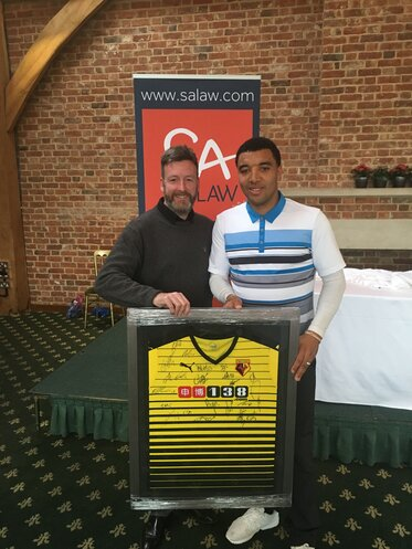Robert Ryall & Troy Deeney WFC Gold Day 2016
